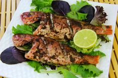 An amazing jerk fish (red snapper) in the oven. Click to see the recipe with video demo