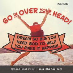 go in over your head - Google Search