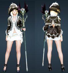 Black Desert Witch costumes