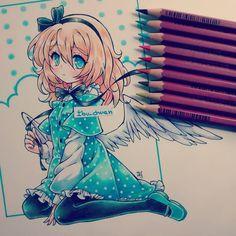 """""""Pencil cretacolor"""" <---READ please ;3  Me encanta la paleta de colores de…"""