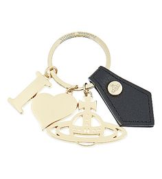 VIVIENNE WESTWOOD I Heart Orb gadget keyring. #viviennewestwood #bags #charm #accessories #
