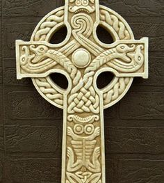 Celtic Cross Zoomorphic (medium)