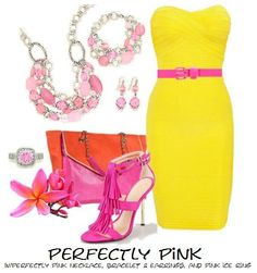 Perfectly Pink ensemble with Pink Ice ring. Premier Designs Jewelry. Order from Amber Tye today!