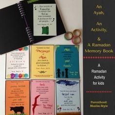 An Ayah, An Activity and a Ramadan Memory Book