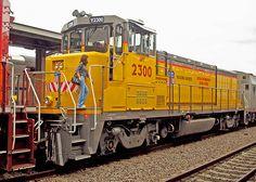 Union Pacific Locomotive 2300, Fort Worth Intermodal Transportation Center