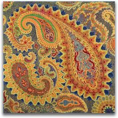 Nested Paisleys - Ann Jasper