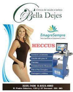 Bella Dejes: O Heccus é um tratamento que provoca uma reação no...