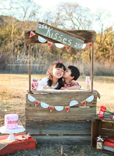 Upcycled Childs Kissing Booth custom made from by CountryDaz, $129.00