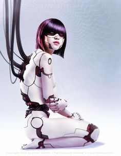 Android Legacy 4 - Akira Picture (2d, sci-fi, robot, cyborg, android, girl, woman)