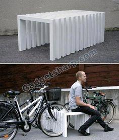 11 Creative Public Bench Designs - Cool Idea for Public Spaces Urban Furniture, Street Furniture, Furniture Plans, Furniture Design, Furniture Stores, Office Furniture, Furniture Nyc, Furniture Outlet, Furniture Companies