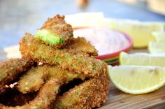 Avocado fries!! Gotta try them