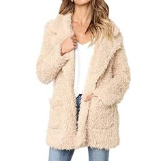 online shopping for Soft Warm Hoodie Coat,Pocciol Women's Casual Jacket Winter Warm Parka Outwear Overcoat from top store. See new offer for Soft Warm Hoodie Coat,Pocciol Women's Casual Jacket Winter Warm Parka Outwear Overcoat Summer Coats, Best Winter Coats, Winter Coats Women, Coats For Women, Clothes For Women, Long Faux Fur Coat, Pullover Hoodie, Shearling Coat, Outerwear Women