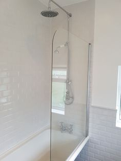 White wet area in the new bathroom