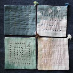 hananiwa SASHIKO B78b Sashiko Embroidery, Japanese Embroidery, Embroidery Applique, Embroidery Stitches, Japanese Quilts, Japanese Sewing, Japanese Textiles, Shibori Fabric, Fabric Art