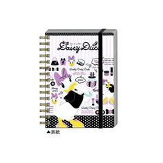 Disneyデイジーダック ● A6Wリングノート ベルト付 :cd48mddd070:キャラクター雑貨 ラフラフ - 通販 - Yahoo!ショッピング