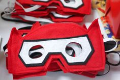 Big Hero 6 Baymax Birthday Party Felt Mask