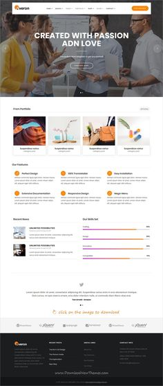 Service providers business directory template pinterest list averon is clean and modern design responsive multipurpose html template for creative business website with 21 niche homepage layouts to live preview friedricerecipe Choice Image