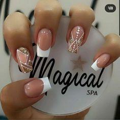 Perfect Nails, Gorgeous Nails, Pretty Nails, Simple Nail Art Designs, Nail Designs, Hello Nails, Modern Nails, Luxury Nails, Fire Nails