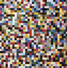 1024 Colours, 1974--color chart