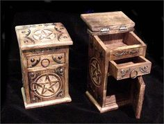 White Magick Alchemy - Triple Moon Witches Magickal Cupboard, $39.95 (http://www.whitemagickalchemy.com/triple-moon-witches-magickal-cupboard/)