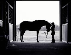 I want to someday photograph this of Ava and her horse :)