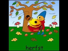Digibordles H  liedjes over de Herfst Digibordonderbouw.nl Pompom