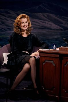 Stock Pictures, Stock Photos, Geena Davis, Tonight Show, Tall Women, Famous Faces, Older Women, Girl Crushes, Redheads