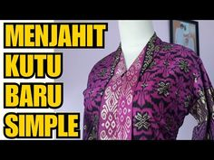 Kebaya Brokat, Model Kebaya, Tandoori Masala, Clothes For Women, Simple, Youtube, Pattern, Mens Tops, Shirts