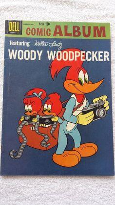 from $9.95 - Woody Woodpecker #Comic Album # 5 Nice Shape Just Beautiful Copy
