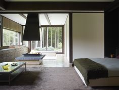 Feast Your Eyes on Fashion Designer Josie Natori's Japanese-Inspired Home - Dwell #newyork #japanese-inspired #bedroom