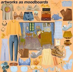 artworks as moodboards