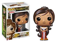 Maria The Book of Life Pop! Funko Vinyl Figure New in Box NIP 92 New in Package