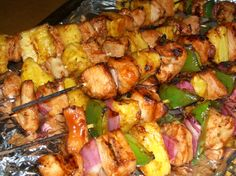 Shish Kabob Marinade Recipe - Made this for Father's Day 2015.  Cut the sugar down to 1/4 cup.  Excellent flavor!