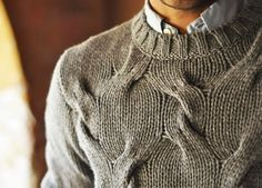 chunky cable knit | MugenStyle