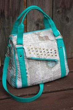 Rockstar Bag Pattern Download available at connectingthreads.com
