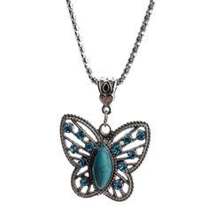 Butterfly pretty necklace - Sass N Frass 9/29/15 /http://www.sassnfrass.net/#FeelingSassy