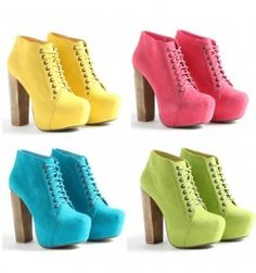 um, i love these shoes. and when i walk upstairs they better be in my closet! all four of them!