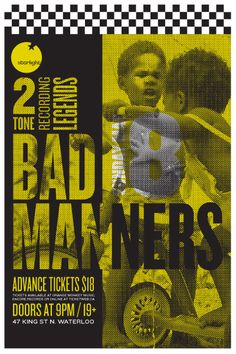 GigPosters.com - Bad Manners