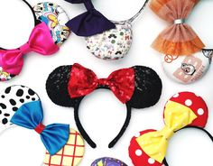 Adorable ears to wear to Disney!