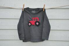 "Bio-""Häkelshirt""TRAKTOR/Org.Cott. Shirt TRACTOR von KingulY© KreativWerkstatt auf DaWanda.com Unisex, Canada Goose Jackets, Winter Jackets, Shirts, Etsy, Fashion, Tractor, Kids, Moda"