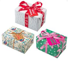 Lush gift boxes-£7-£30 Birthday Wishlist, Christmas Birthday, Gift Boxes, Lush, Gift Wrapping, Candy, Gifts, Gift Wrapping Paper, Favors