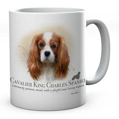 Excited to share the latest addition to my #etsy shop: Howard Robinson King Charles Spaniel Dog Image On Ceramic Tea/Coffee Mug Ideal Gift https://etsy.me/2IvgVFj #housewares #customfunkygifts  #mug #personalised #personalisedgifts #dogs