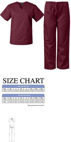 30802006228 Sets 105432: Medgear Medical Uniform Men And Women Eversoft Scrubs Set Top  And Pants Unisex -> BUY IT NOW ONLY: $18.99 on #eBay #medgear #medical # uniform ...