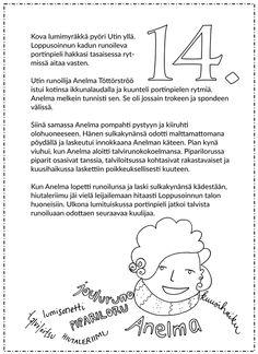 Picture Ovet, Christmas Calendar, Kindergarten, Words, Pictures, Photos, Kindergartens, Preschool, Preschools
