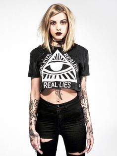 Women's Grunge Clothing: Rock and Goth Clothes - Disturbia Clothing