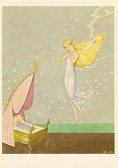 Illustration by Rudolf Koivu: The Pearl of Adalmiina.