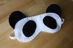 "sleep mask ""Panda Love"" + pattern - Pesquisa Google"