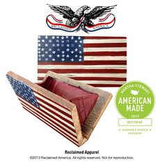 Reclaimed Apparel. VOTE for us! We're a 2013 @AmericanMadeMSL Audience Choice Award nominee! http://www.marthastewart.com/americanmade/nominee/82710