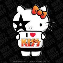 Children's Hello Kitty poster I Love Kiss poster Sanrio Hello Kitty, Hello Kitty Cartoon, Hello Kitty Art, Kitty Kitty, Banda Kiss, Love Kiss, My Love, Hello Kisses, Hello Kitty Imagenes