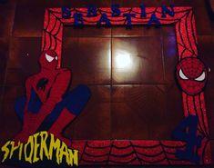 Photobooth spiderman